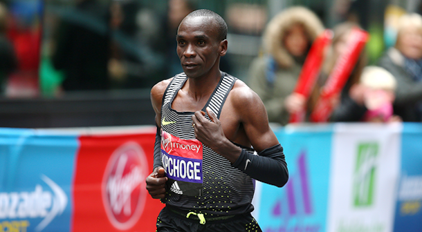 Kipchoge Maratón de Londres