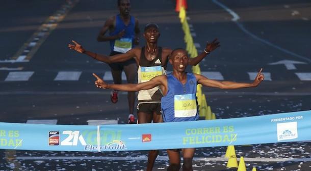 Inés Melchor tercer lugar en el Medio Maratón de Guadalajara 2018 (Mex)