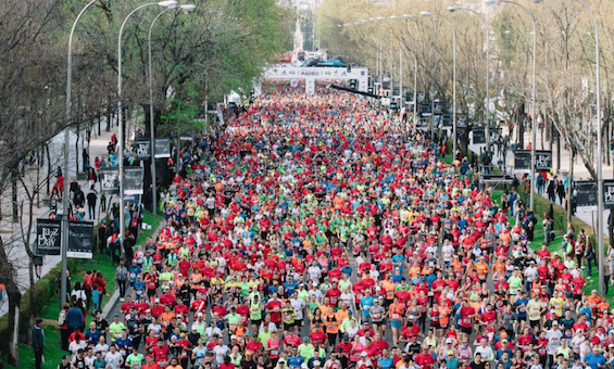 Resultados Maratón y media maratón de Madrid