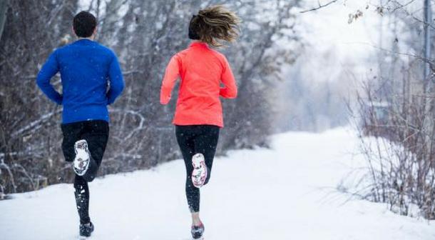 Toma previsiones al correr en frío