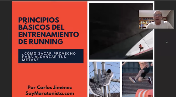 Video principios entrenamiento running