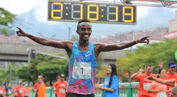 Se impone Etiopía en Maratón de Medellín 2018
