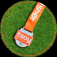 medalla naranja carrera virtual no competitiva soymaratonista