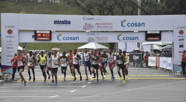 Los keniatas dominaron los 21k de São Paulo 2019