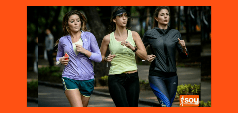 Mujer corredora salud