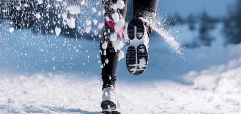 Correr en frío