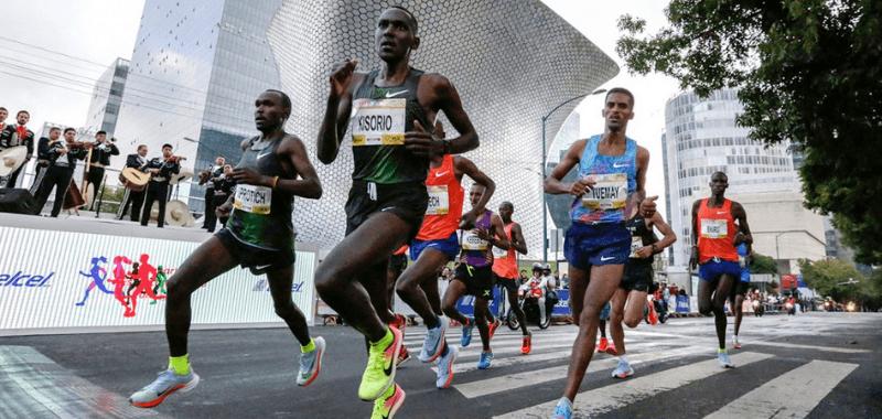 Este domingo se realiza la XXXVII edición del Maratón de la Ciudad de México