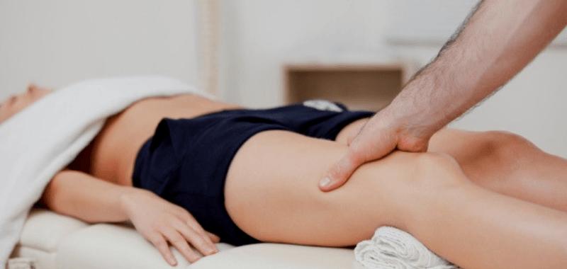 El masaje te ayuda también en tu recuperación