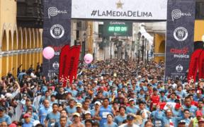 110 años de la media maratón de Lima
