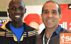 Wilson Kipsang, poseedor del récord mundial de maratón