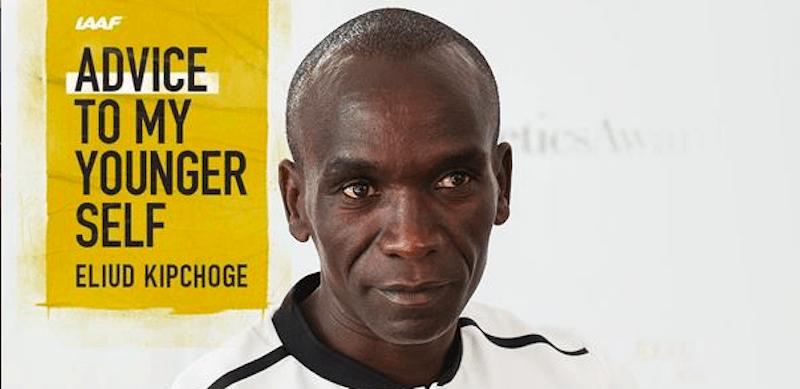 Eliud Kipchoge maratonista