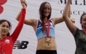 La argentina Mariana Borelli fue la ganadora en la categoría femenina
