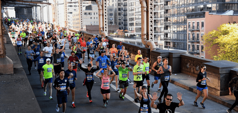 Una imagen del Maratón de Nueva York 2018