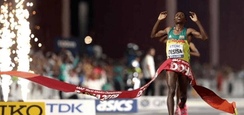 Lelisa Desisa se lleva la de oro en Doha