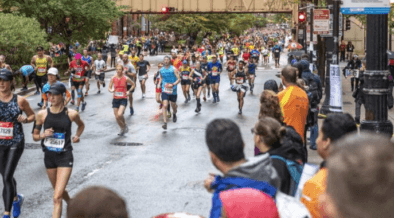 El Maratón de Chicago convoca a gran cantidad de espectadores