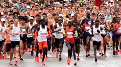 Maratón de Chicago 2019 grupo élite