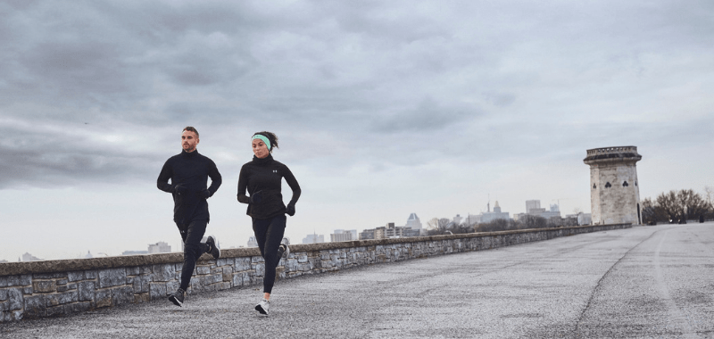 Correr en clima de frío intenso