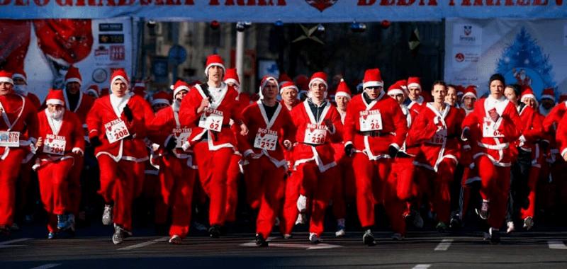 Sigue corriendo en Navidad y mantente en forma
