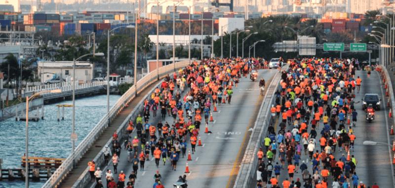 Brújula para maratonistas: Recorriendo Miami