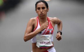 La peruana Gladys Tejeda