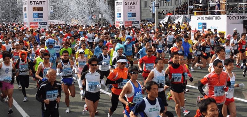 Maratón de Tokio y Coronavirus