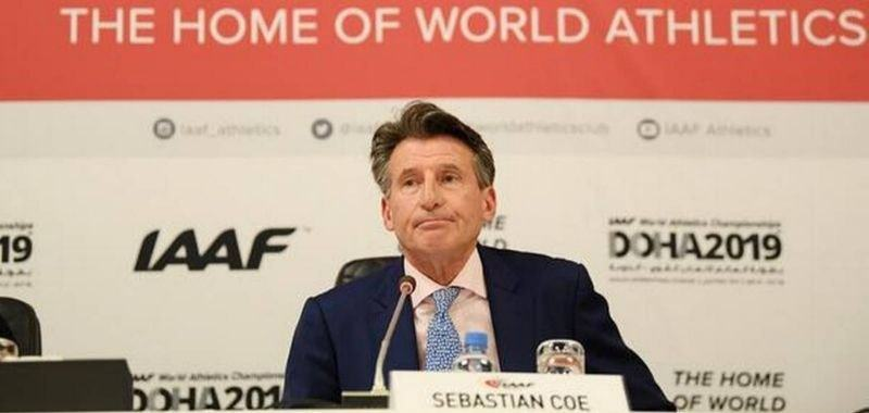 Sebastian Coe presidente de World Athletics