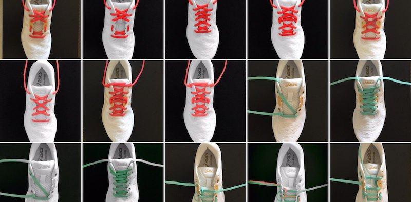 Cómo atar cordones zapatillas correr