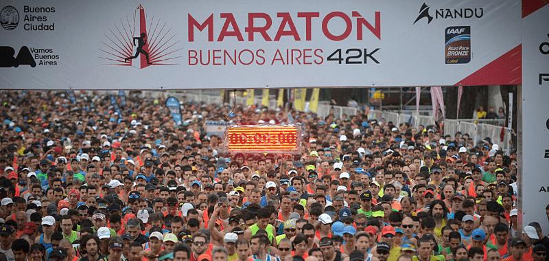Suspendido Maratón de Buenos Aires 2020