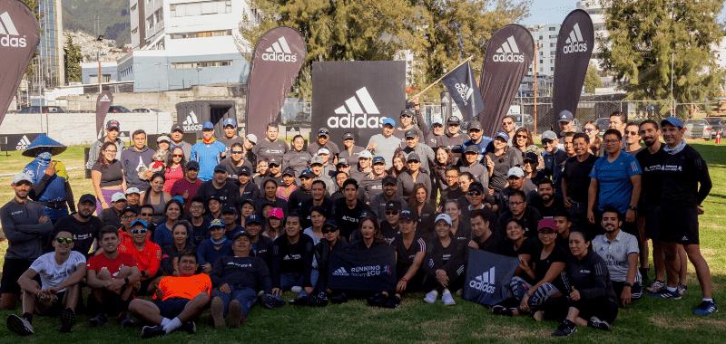 adidas running team Ecuador por SoyMaratonista