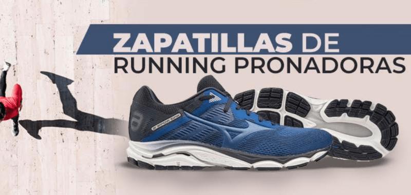 Zapatillas running pronadoras por SoyMaratonista