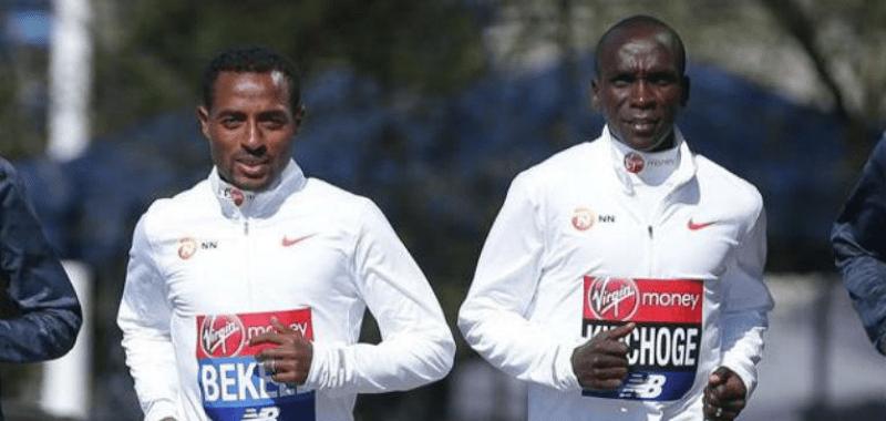 Confirman la participación de Kipchoge y Bekele en el London Marathon Virgin Money