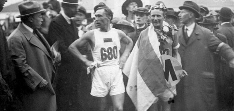 A un siglo, del primer maratonista sudamericano en los Juegos