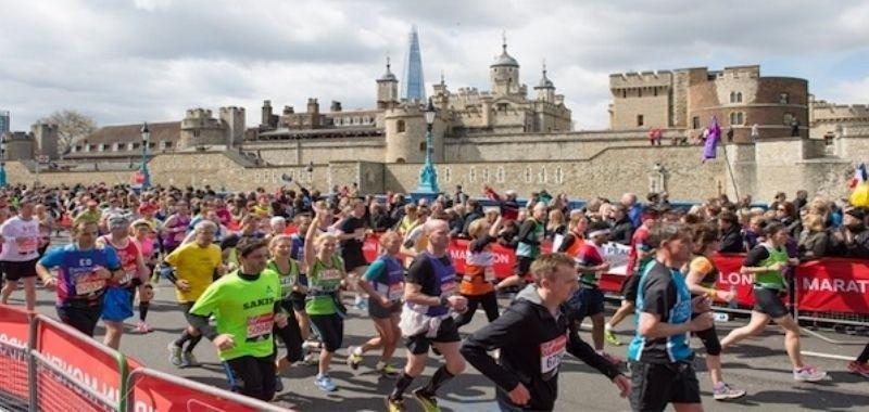 Historia Maratón de Londres