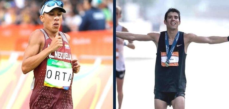 Luis Orta y Alexis Peña participarán en Campeonato Mundial de Media Maratón