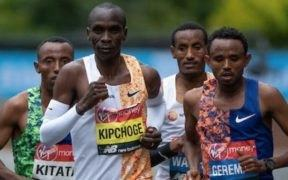 Maratón de Londres élites