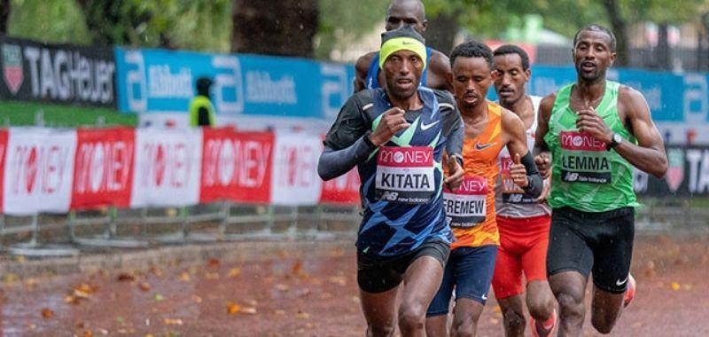 Shuro Kitata el ganador del Maratón de Londres 2020