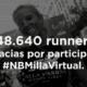 Récord en Milla Urbana edición virtual