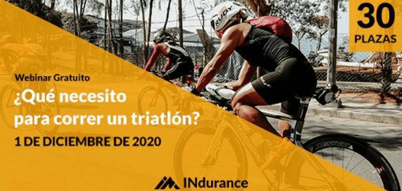 ¿Qué necesitas para correr un triatlón? Webinar Gratuito por Soy Maratonista
