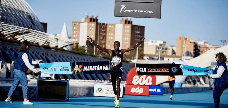 Ganador maratón de valencia