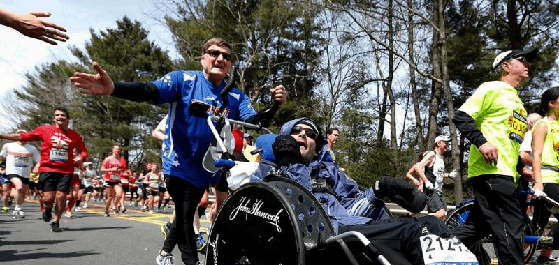 """Fallece Dick Hoyt, """"corazón y alma"""" del maratón de Boston"""